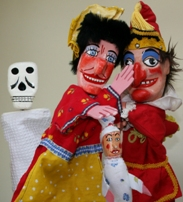 puppet show puppeteer punch and judy kids party entertainers
